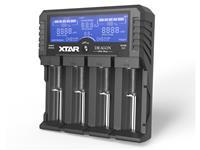 XTAR VP4 Plus Dragon Intelligent LCD 16340 18650 Charger Tester USB+12v Car