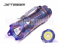 JETBeam JET II Pro Cree XP-L HI LED Titanium Ti 16340 Flashlight LIMITED PURPLE