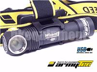 ArmyTek Wizard Pro v3 Cree XHP50 Magnetic USB Rechargeable Headlight+18650 Battery