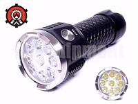 MecArmy PT26 9x Cree XP-G2 S4 3850lm Rechargeable USB Power Bank LED Flashlight