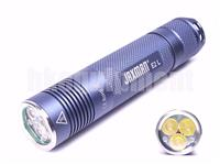JAXMAN E2L 3x Cree XP-G2 S4 LED 18650 TIR Flashlight