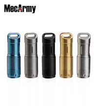 MecArmy illumineX-2 PVD CREE XP-G2 Keychain USB Rechargeable 10180 Flashlight