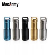 MecArmy illumineX-2 PVD CREE XP-G2 Keychain USB Rechargeable 10180 Flashlight