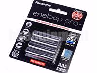 Panasonic eneloop pro Rechargeable 950 mAh AAA 1.2v NiMH Battery x4