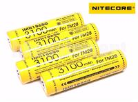 Nitecore IMR18650 3100mAh FOR TM28 Rechargeable Battery x4