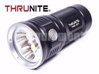 Thrunite TN36 2017 3x Cree XHP70 10000lm Flashlight with IMR Batteries and Charger Kit