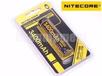 Nitecore 18650 NL1834R Mini USB Port Charge Protected Rechargeable Battery x1