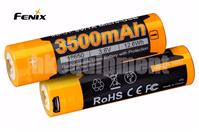 Fenix ARB-L18 3500U Protected 3500mAh 18650 Li-ion USB Rechargeable Battery x2