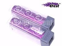 Efest IMR18650 3000 Li-Mn 18650 35A Flat Top Rechargeable Battery x2 ORIGINAL
