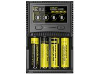 Nitecore SC4 Superb LCD Digital Battery Charger for Li-ion, Ni-Cd, NiMH and USB Devices