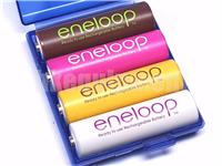 Panasonic eneloop Tropical Color Rechargeable AA BK-3MCCE 1.2v NiMH Battery x4