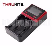 Thrunite MCC-2S Li-ion NiMH LCD 2x1A AA 18650 26650 Battery Charger+12v Car