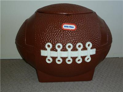 little tikes football toy box lid 2