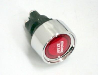PUSH BUTTON ENGINE START SWITCH RED ILLUMINATED HOT ROD eBay