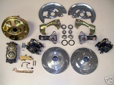 Body Power High Performance Disc Brake Conversion Kit Slotted