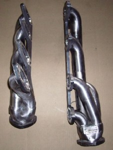 Big Block Ford Fe Silver Coated Headers For 71 73