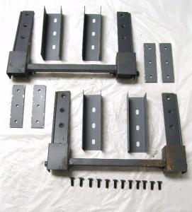 Complete Street Rod Hot Rod Suicide Hidden Door Hinge Kit