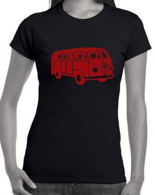 Kombi-Van-T-Shirts-size-Ladies-Mens-Singlets-Kombie-Hoodie-VW-Camper-Womens