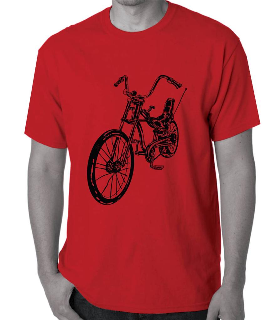 Dragster-Bike-Bicycle-Mens-Womens-Hobo-T-Shirt-Retro-70s-1970s-funky-cool