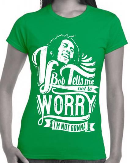 Bob-Marley-T-Shirts-Funny-slogan-tee-Size-Womens-Ladies-Mens-Singlets ...