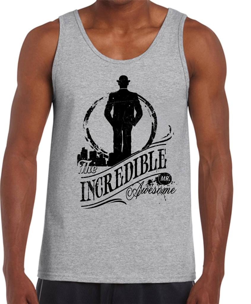 The-INCREDIBLE-mr-AWESOME-Funny-Dad-Fathers-Day-gift-new-Mens-T-Shirt ...