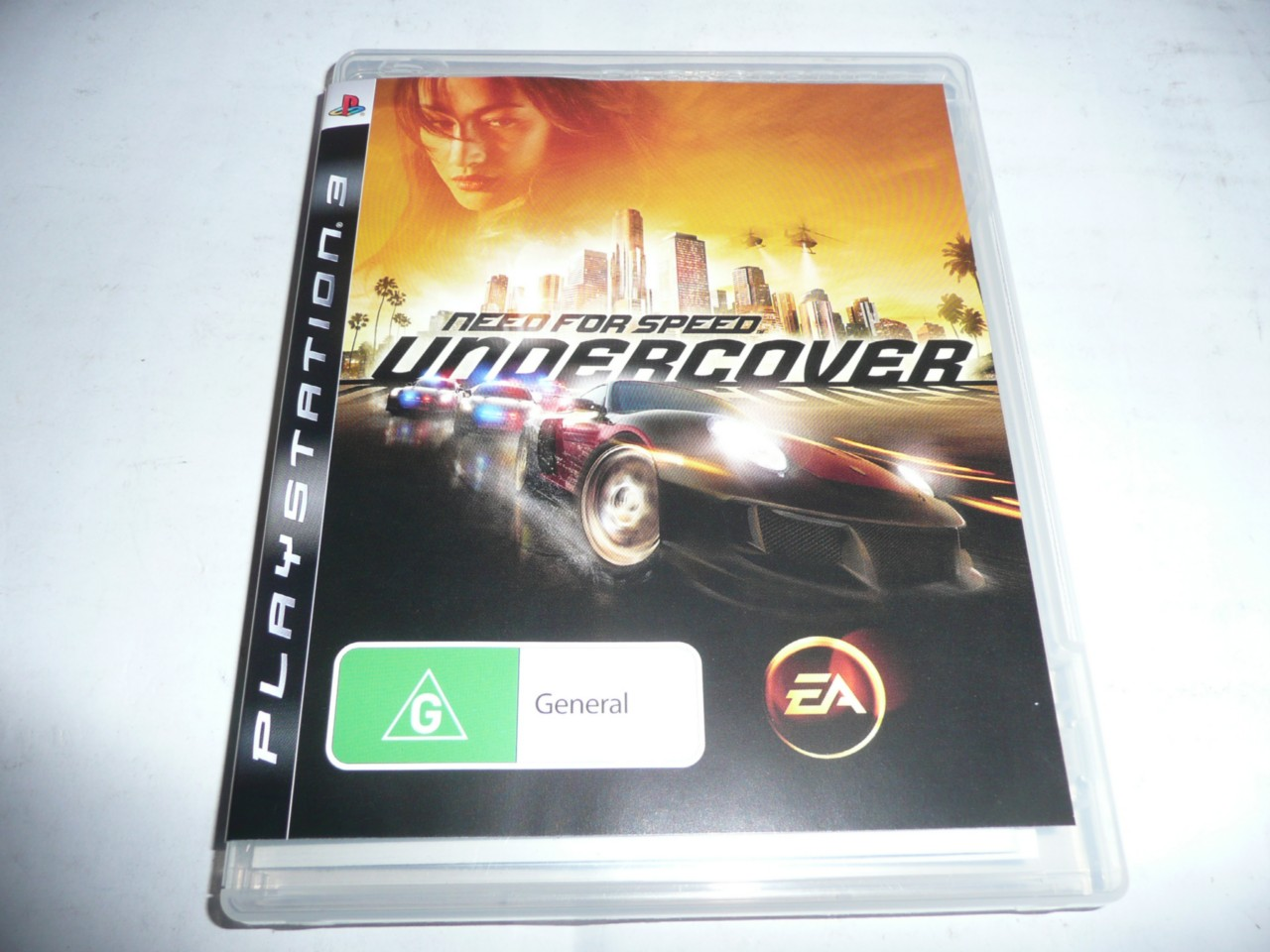 need for speed undercover ps3 game new 014633154535 ebay. Black Bedroom Furniture Sets. Home Design Ideas