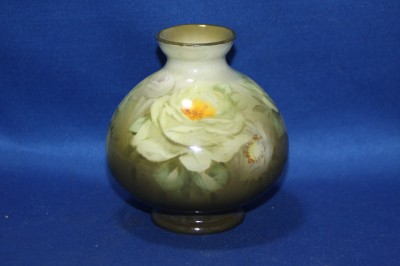 Vintage ROYAL BONN Hand Painted ROSE Pottery VASE
