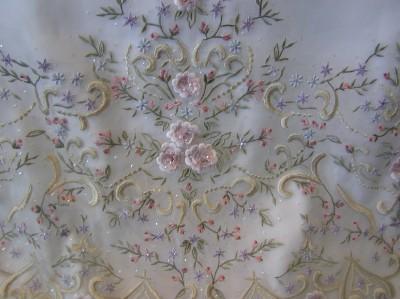 Davinci Bridal on Nwot Davinci Bridal Gown Wedding Dress Iv Multi Flowers   Ebay