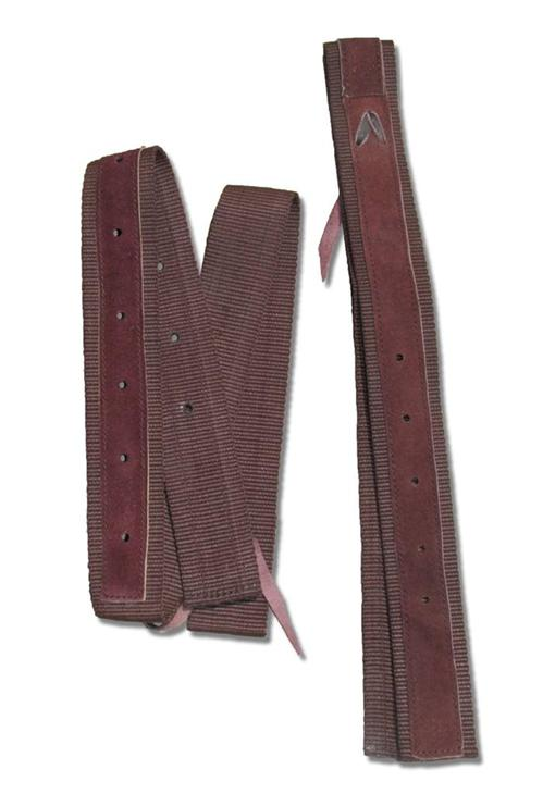 Brown-Nylon-Webbing-Western-Billet-Latego-Girth-Straps
