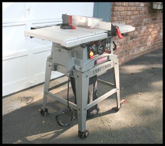 Craftsman 10 table saw 3 hp 5000 rpm model for Sears table saw motor