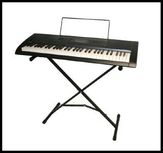 Casio CTK 2000 Electric Keyboard Stand 61 Key Full Size Keyboard