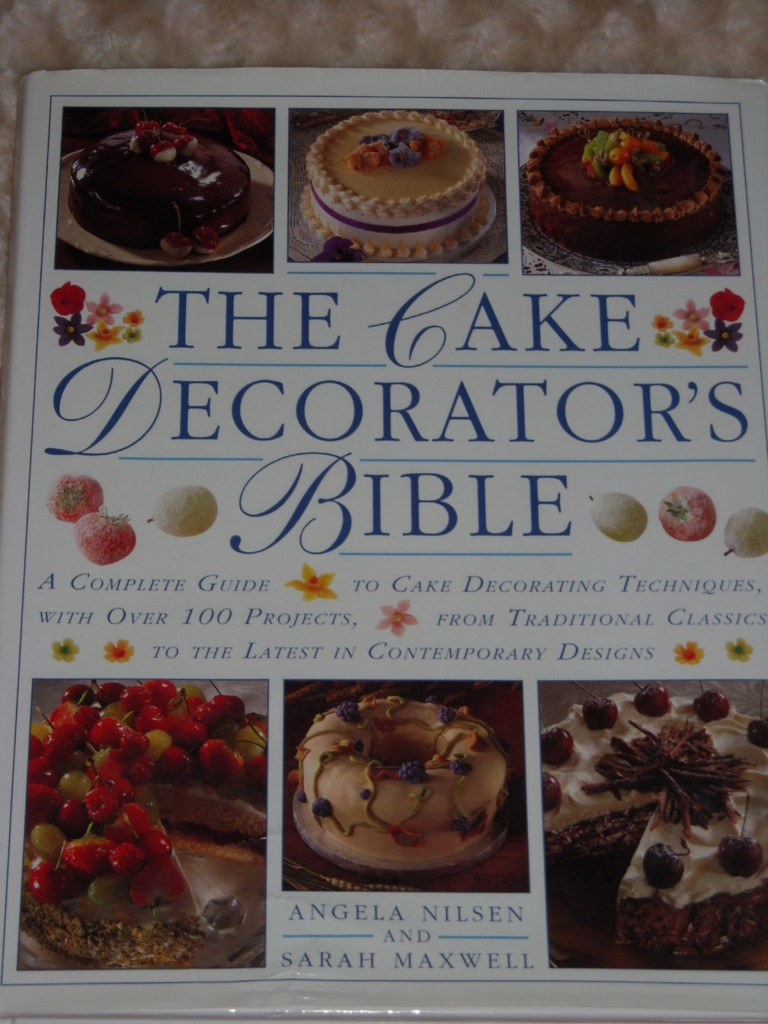 Cake Decorating Cookbook : CAKE DECORATING BIBLE COOKBOOK RECIPES SUGAR ART COOK eBay