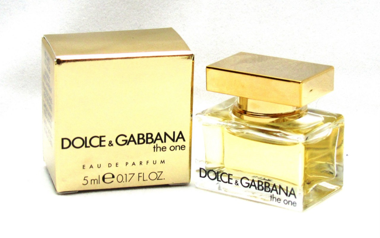 DOLCE-GABBANA-WOMAN-THE-ONE-MINI-COLLECTABLE-PERFUME-5ML-BOXED-DAB-ON-PERFUME