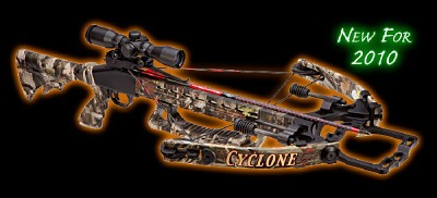 2010 Parker Cyclone Express Crossbow ILLUMINATED SCOPE!
