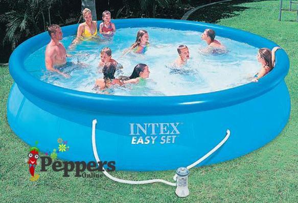 New Intex Easy Set Pool 12 39 X 30 W Filter Aboveground 12ft Swimming Splash Pool Ebay