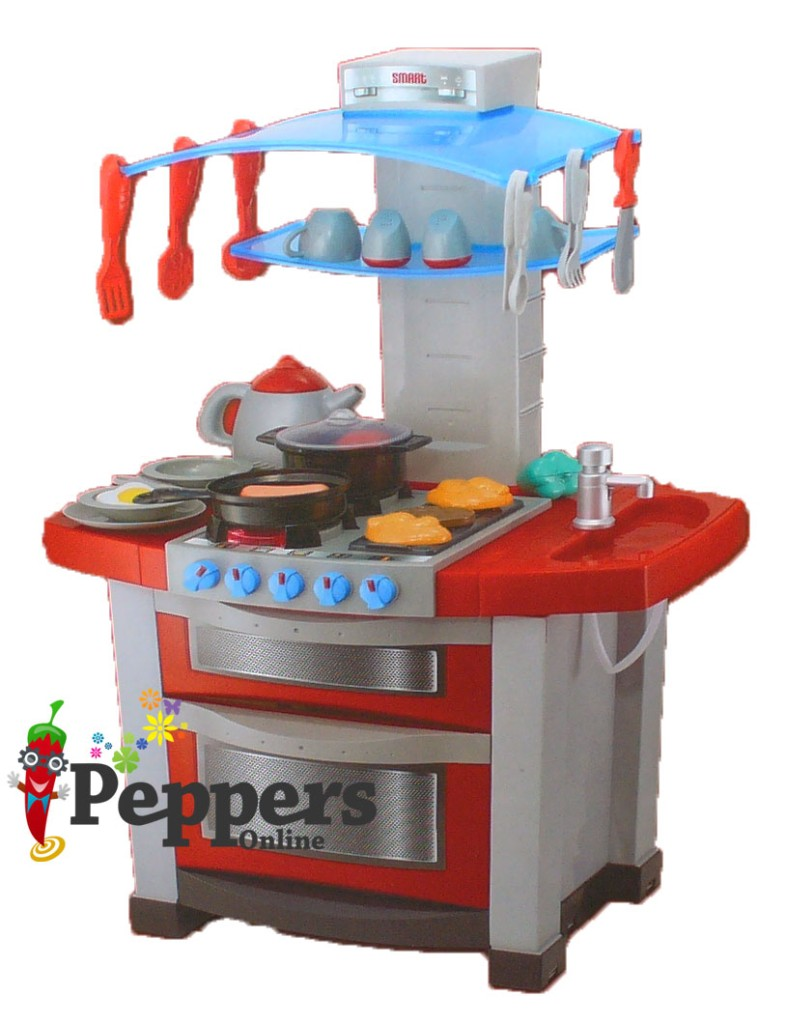 New pretend play halsall smart kitchen set with sounds and for Smart kitchen accessories