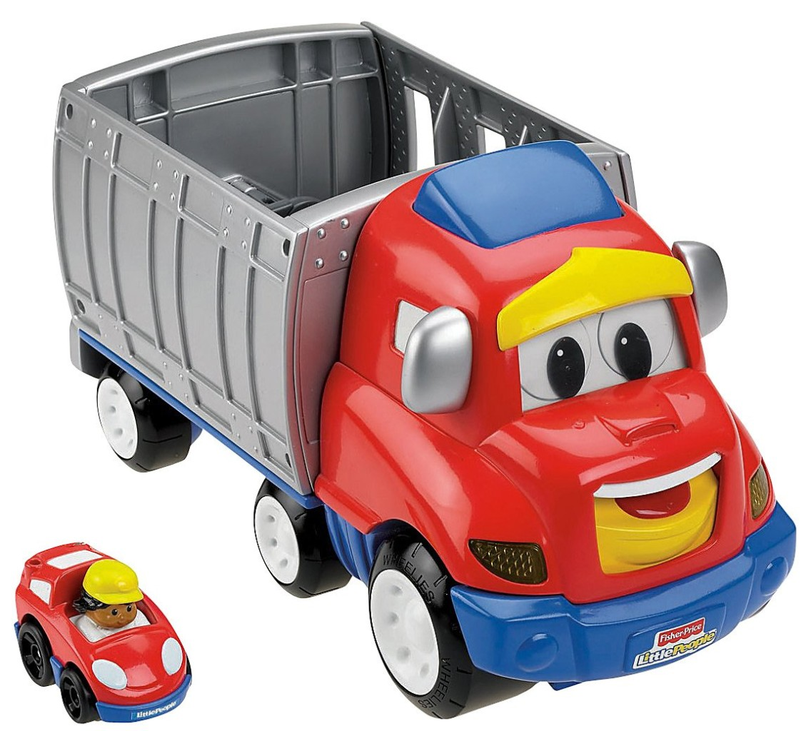 NEW-Fisher-Price-Little-People-Wheelies-Zig-The-Big-Rig