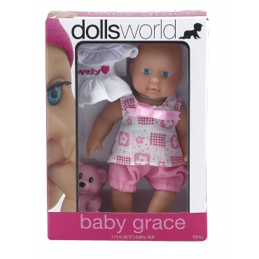 NEW-Dolls-World-Baby-Grace-Baby-Doll-Female-Girl-Lovely-Toy
