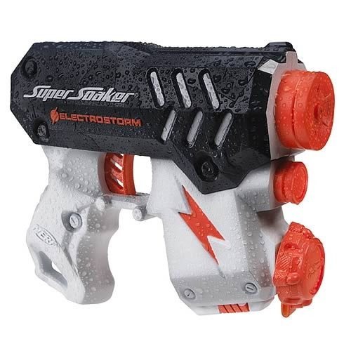 NEW-Nerf-Motorized-Super-Soaker-The-Electrostorm-Blaster-Gun-Water-Gun