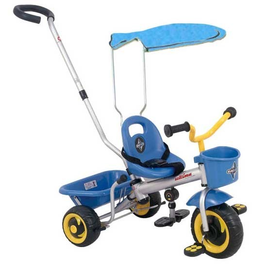 NEW-Eurotrike-Ultima-Canopy-Boys-Ride-On-Trike-Bike-for-Kids-Blue-Bicycle
