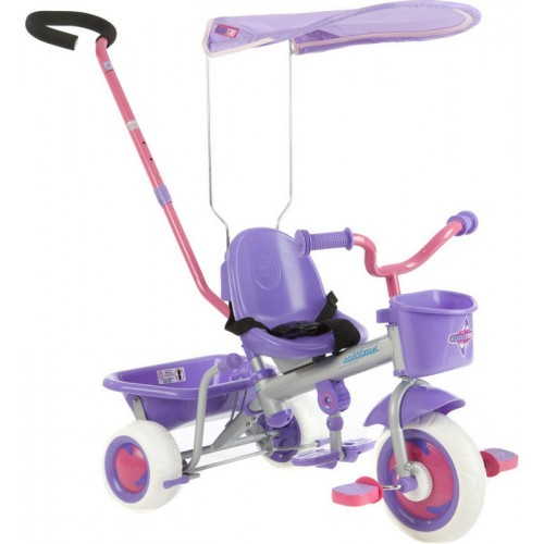 NEW-Eurotrike-Ultima-Canopy-Girls-Ride-On-Trike-Bike-for-Kids-Purple
