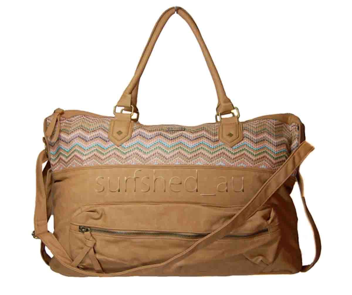 Unique Waterproof Folding Fashion Travel Bag Women Weekend Overnight Bag