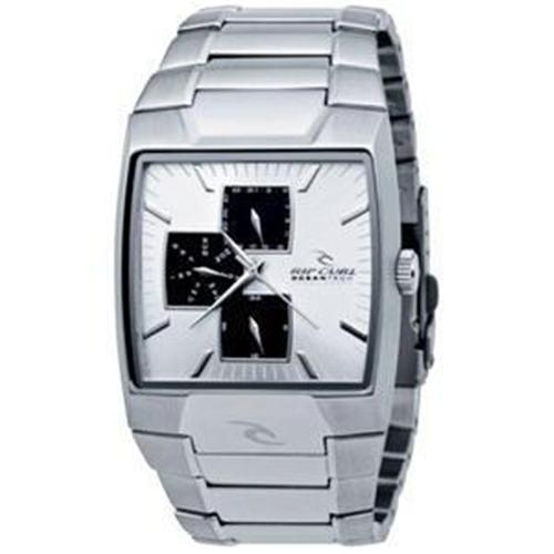 Rip-Curl-MUNICH-SSS-SILVER-BLACK-Stainless-Mens-Surf-Watch-New-Rrp-350-Gift