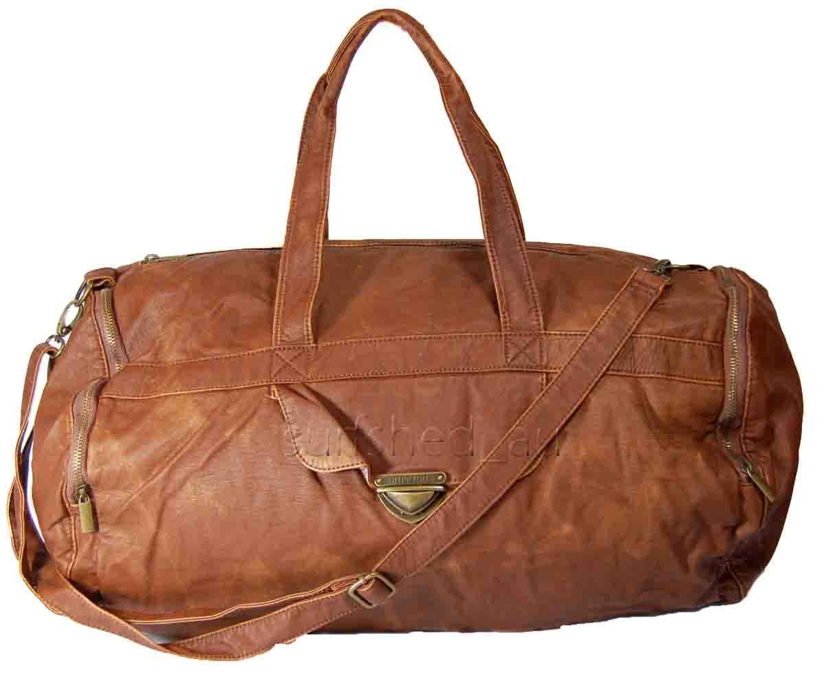 Brilliant  BLUE GEAR BAG Womens Overnight Travel Carry On Cabin Gear Bag  EBay