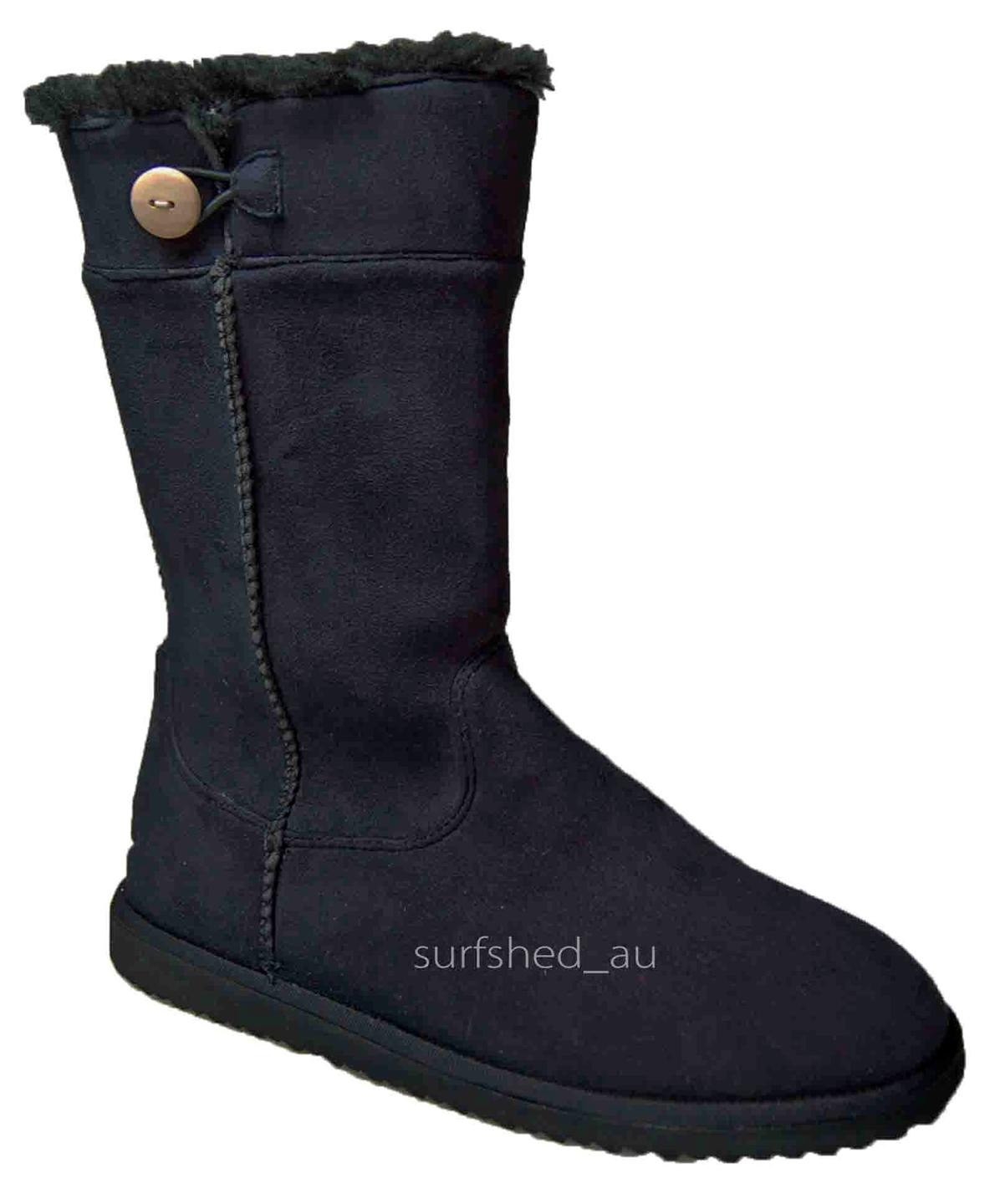 size 10 s rip curl powder boot 4 black womens ugg
