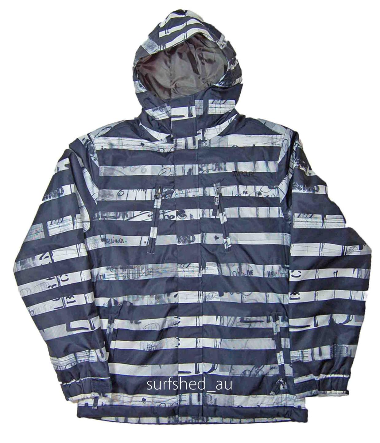 Size-M-Mens-Rip-Curl-ANSWER-Black-Snow-Board-Ski-Mountain-Waterproof-Jacket-New