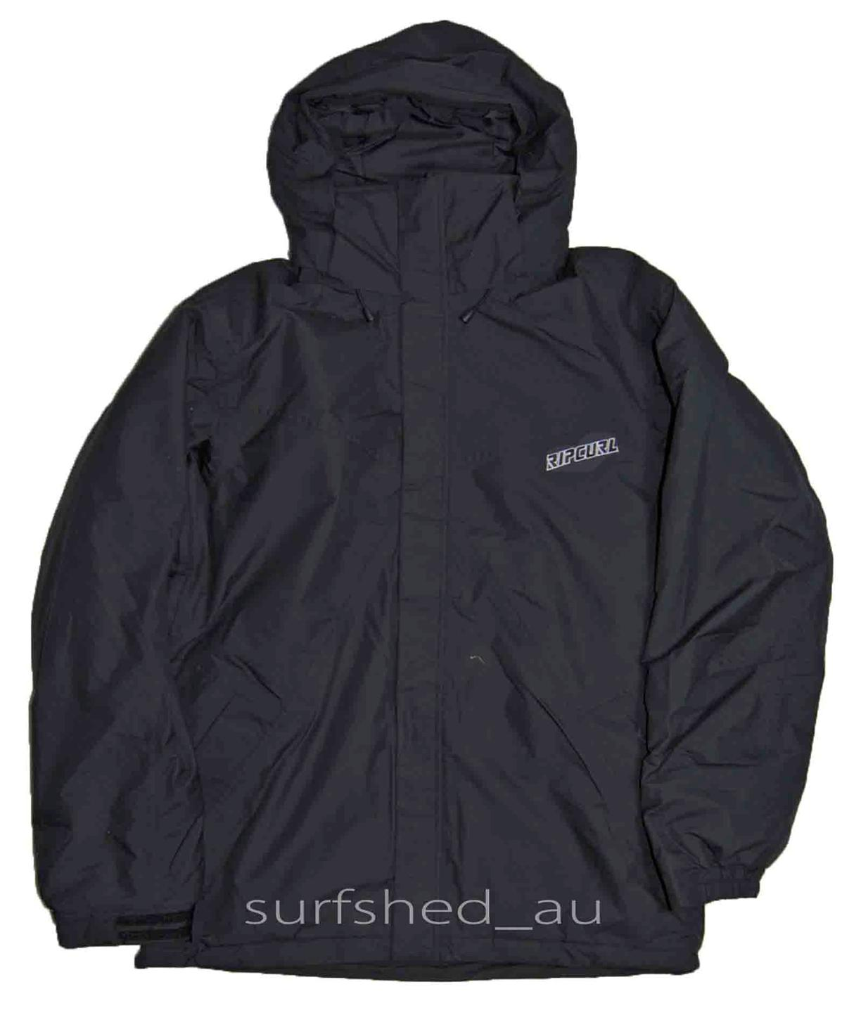 Size-L-Mens-Rip-Curl-REVELOVER-Black-Snow-Board-Ski-Mountain-Waterproof-Jacket