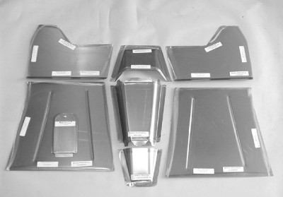1940 46 Chevy GMC Pick Up Steel Front Floor Board Kit