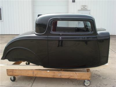 1932 ford 3 window coupe fiberglass body b c body in for 1932 ford floor pan