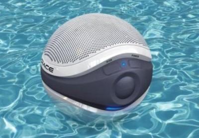 wireless waterproof floating pool speaker ipod mp3 new ebay